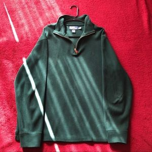 Dark Green Polo by RL Turtleneck Sweater